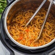 instant pot spaghetti in pressure cooker