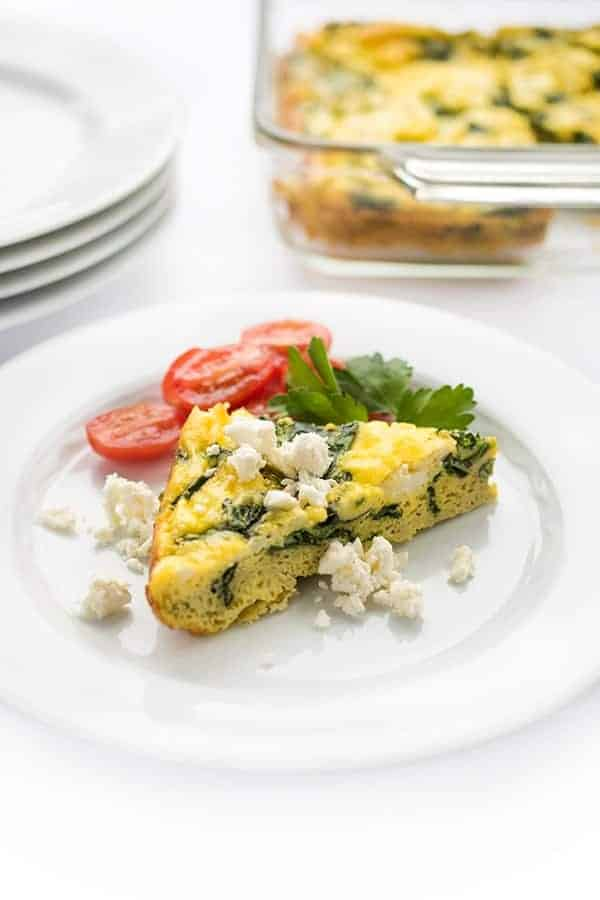 greek egg bake