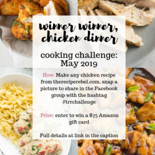 The Recipe Rebel Cooking Challenge May 2019