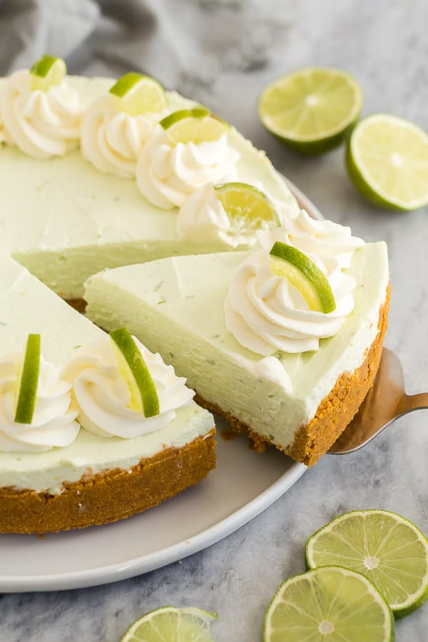 Easy Key Lime Cheesecake No Bake Video The Recipe Rebel