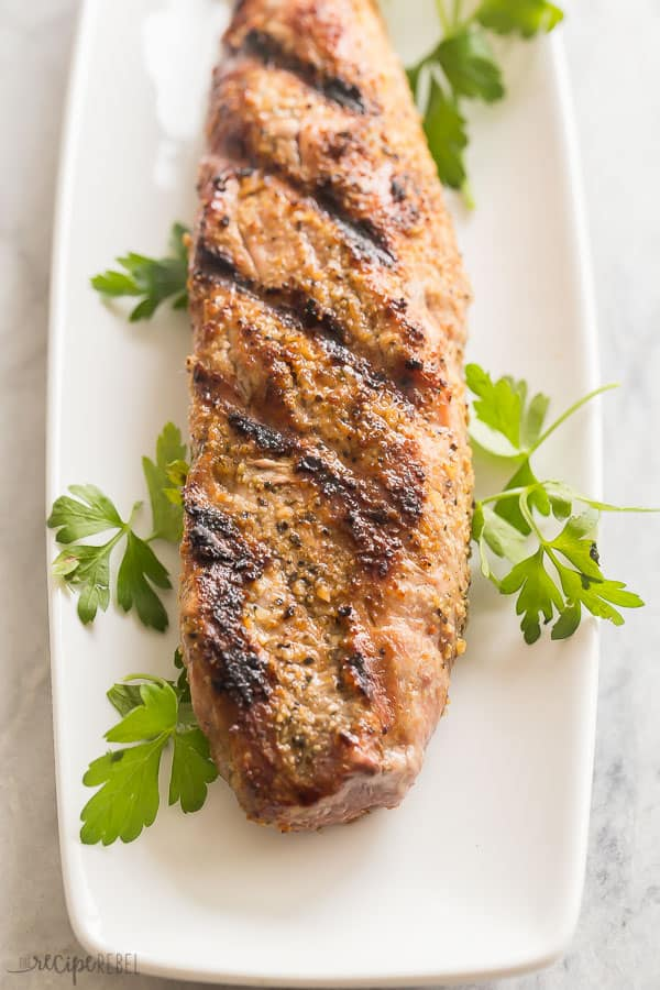 grilled pork tenderloin whole