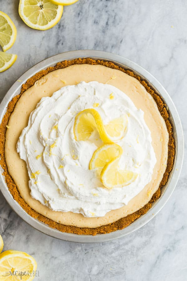 Lemon Icebox Pie The Recipe Rebel