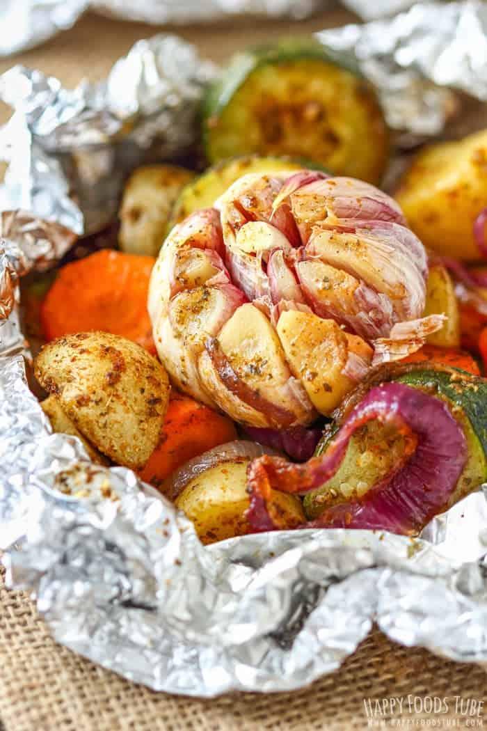 vegetable foil packs