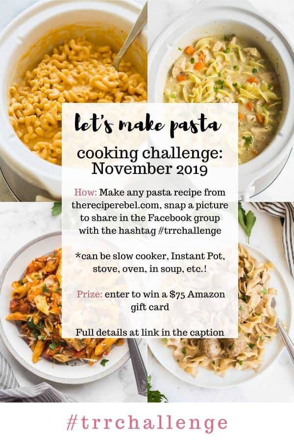 november 2019 cooking challenge