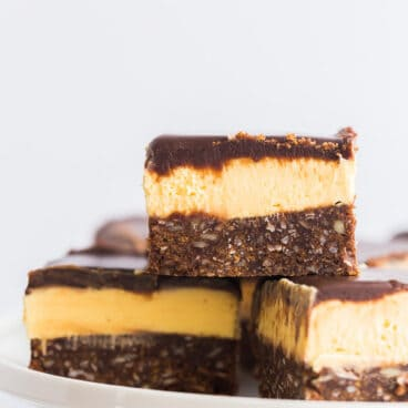 nanaimo bars close up