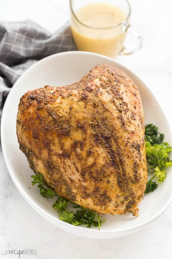 sous vide turkey breast bone in