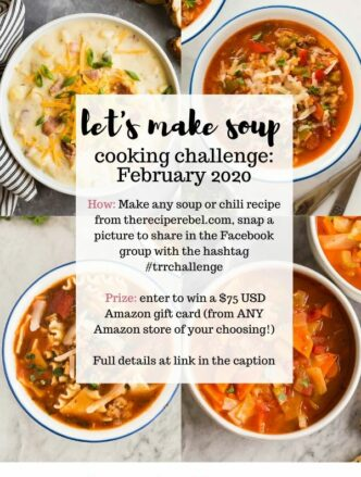 February 2020 cooking challenge