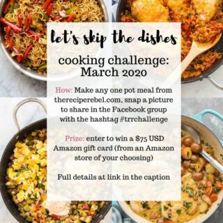 march 2020 cooking challenge the recipe rebel