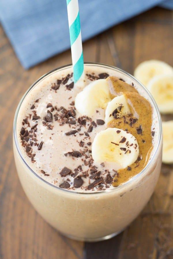Kristine's Kitchen Cocoa Almond Protein Smoothie