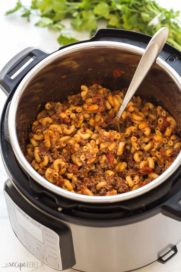 Instant Pot Goulash Step By Step Video The Recipe Rebel