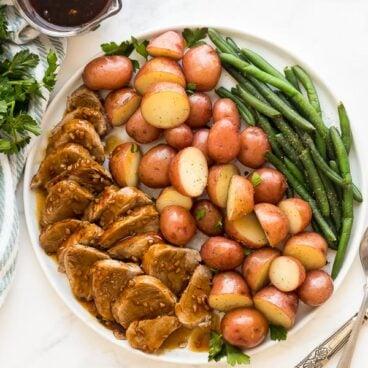 instant pot pork tenderloin and potatoes