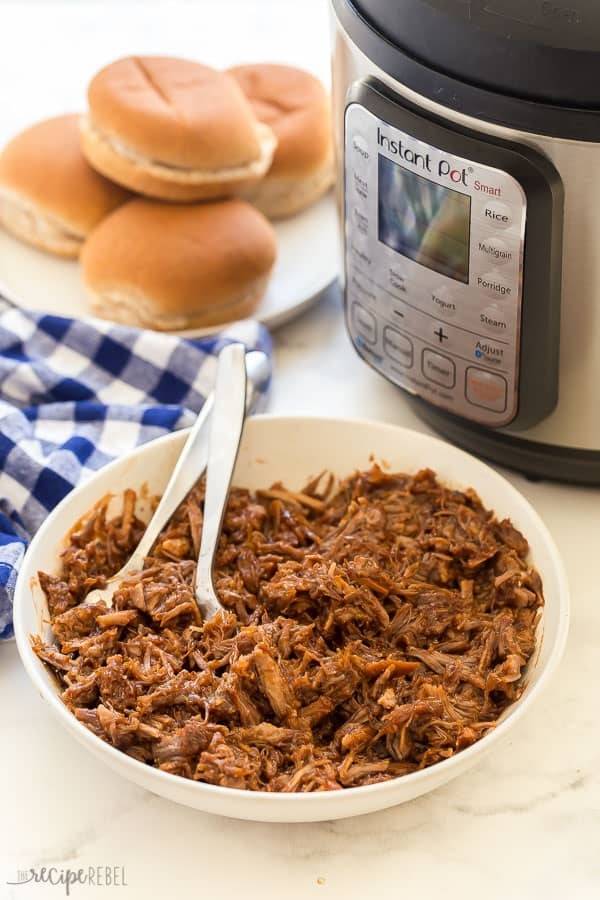 instant pot pulled pork with pressure cooker