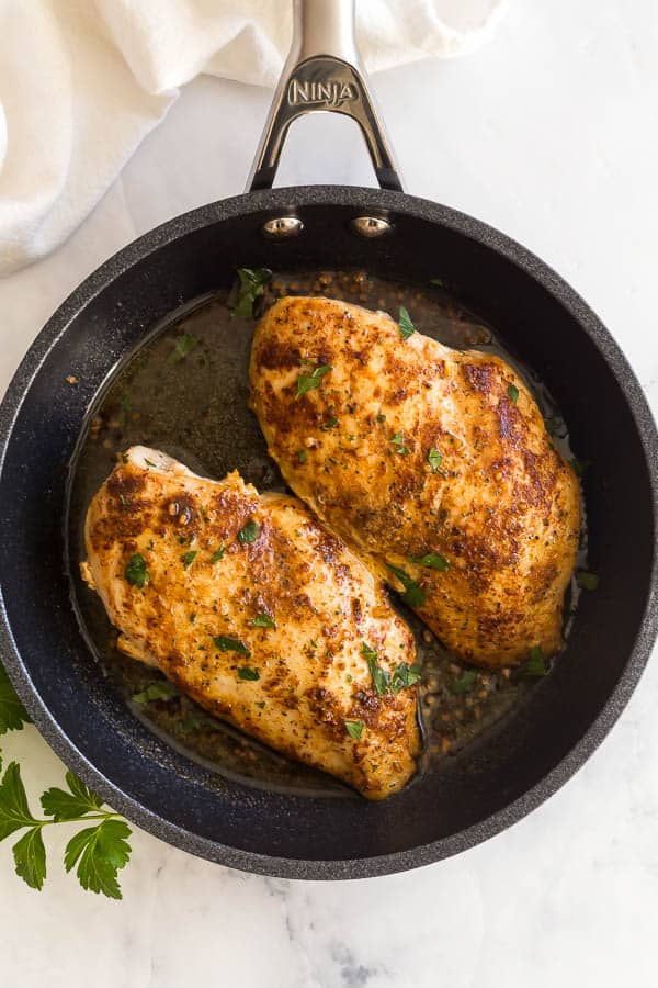 Pan Fried Chicken Breasts The Recipe Rebel